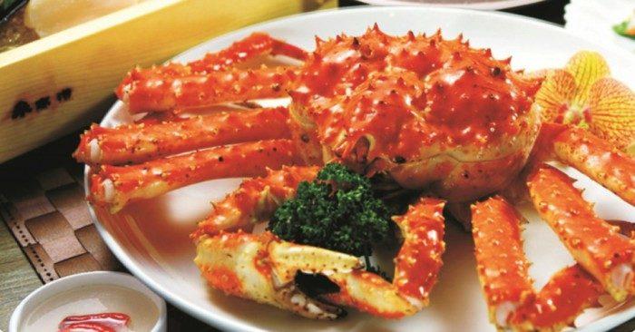 Cua hoàng đế là một món ngon thượng hạng giàu giá trị dinh dưỡng được nhiều thực khách ưa chuộng