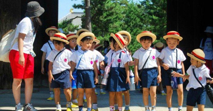 Tre em Nhật Bản được dạy tự lập từ nhỏ