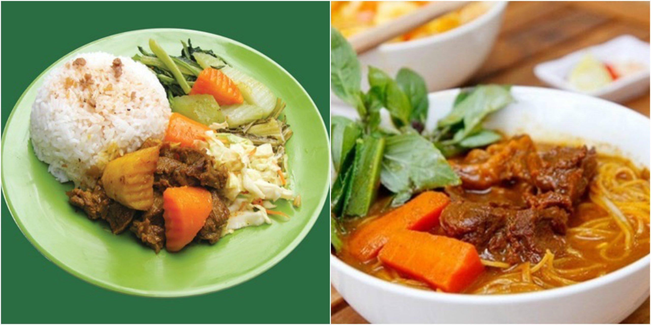 Cơm (trắng), thường có nguyên liệu là gạo tẻ/ gạo nếp và không có thêm gia vị, là thức ăn gần như hàng ngày của người Đông Nam Á và Đông Á. Cơm trắng còn là nguyên liệu cho các món ăn chế biến khác nhau