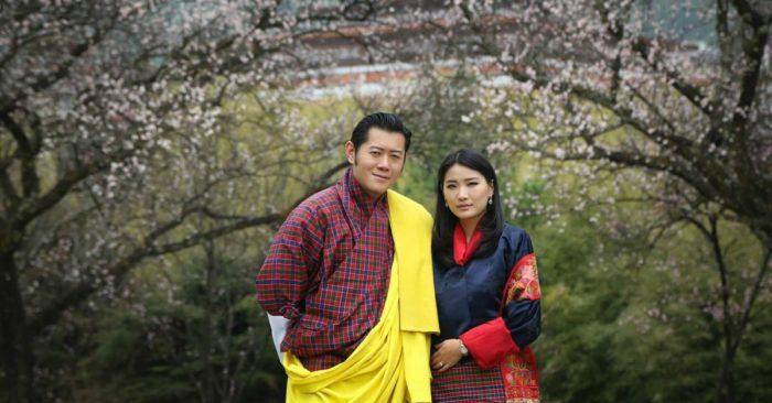 Đức vua thứ 5 của Bhutan cùng hoàng hậu Jetsun Pema