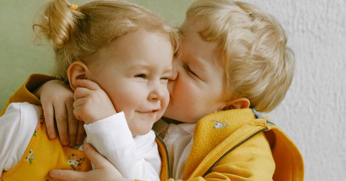 Anh chị em là những người được sinh ra bởi cùng một người cha và người mẹ hoặc ít nhất cùng một trong hai vị phụ mẫu này (người cha hoặc người mẹ). Anh chị em có thể là anh chị em cùng cha khác mẹ hoặc cùng mẹ khác cha. Những người nam thì gọi là người anh em hay anh em trai, những người phụ nữ thì được gọi là chị em gái. Nếu người nữ lớn tuổi hơn người nam thì gọi là chị em nếu người nam lớn tuổi hơn thì gọi là anh em.