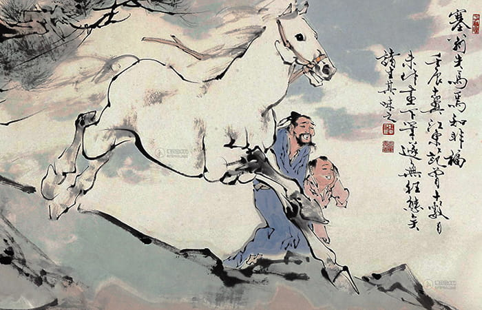 Luyện nghe, dịch tiếng Trung qua truyện ngắn: Tái ông thất mã.