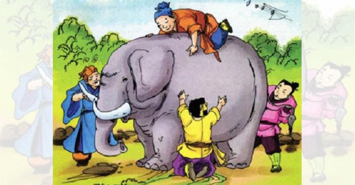 Học tiếng Trung qua truyện ngắn ý nghĩa: Người mù sờ voi