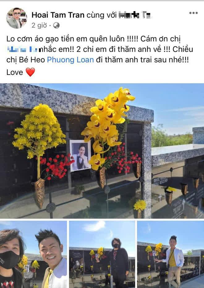 100 ngày NS Chí Tài qua đời: Ca sĩ Phương Loan lộ mắt sưng húp bên di ảnh, dàn sao Vbiz đến viếng kèm chia sẻ xúc động