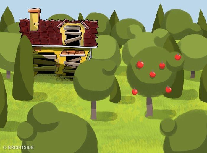Đố vui: Cây táo bí ẩn