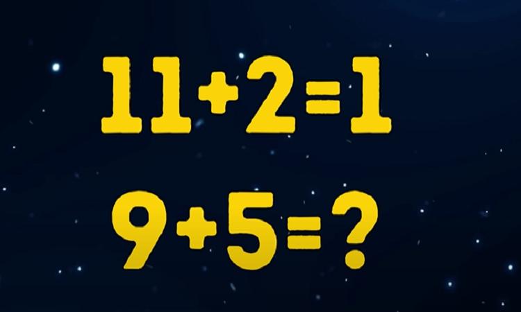 câu đố vui: đáp án là bao nhiêu