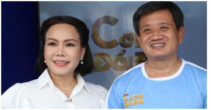 Viẹt Hương xin đồng hành àm từ thiện với ông Đoàn Ngọc Hải (ảnh chụp màn hình báo Thanh Niên).