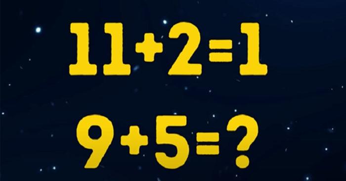 Mỗi ngày 3 câu đố: Giá trị phép tính bằng bao nhiêu?