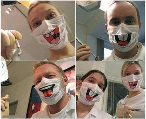 hình ảnh độc lạ hài hước: bác sĩ vui tính