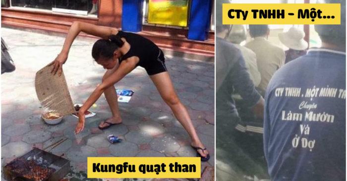Ảnh hài hước vui nhộn: Kungfu quạt tha