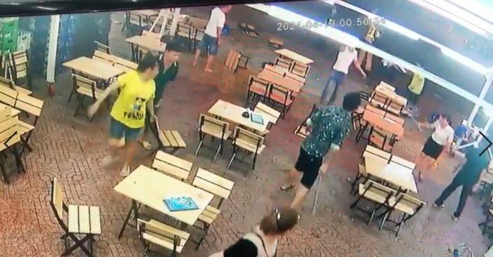 CSGT nổ súng tại Chợ Lớn