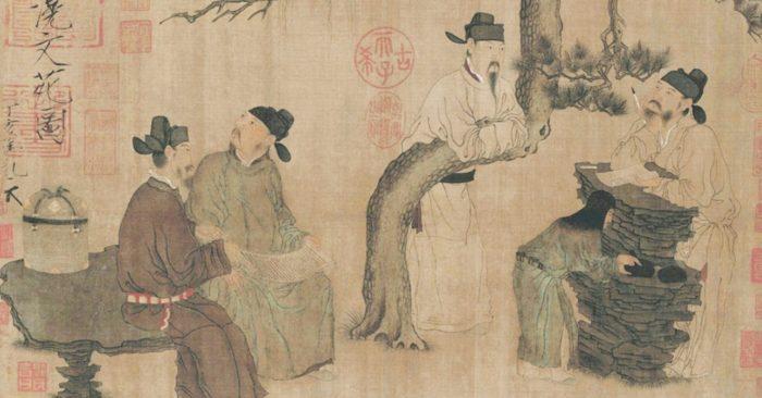 Dĩ hoà vi quý; lùi một bước biển rộng trời cao;thành ngữ tiếng Trung; học tiếng Trung; học chữ Hán