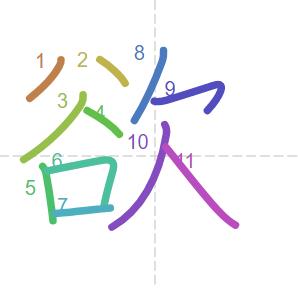chữ dục trong thành ngữ dục tốc bất đạt; thành ngữ tiếng Trung