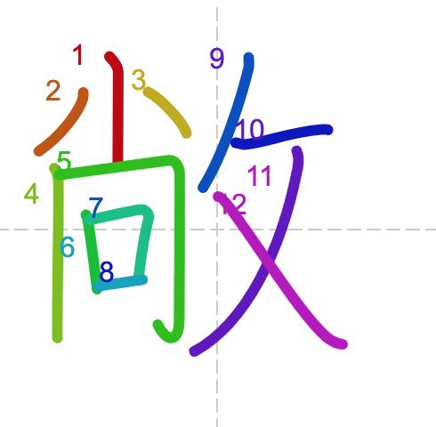 Học từ vựng tiếng Trung có trong sách Chuyển Pháp Luân - chữ xưởng; học tiếng trung; từ vựng tiếng trung; tự học tiếng trungl học tiếng trung online; học tiếng trung cơ bản; hoc tieng trung; khởi đầu
