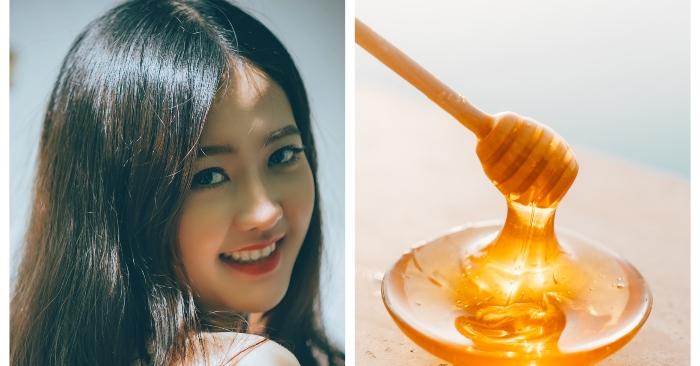 Mật ong còn là dưỡng chất giúp phục hồi mái tóc hư tổn rất hiệu quả.