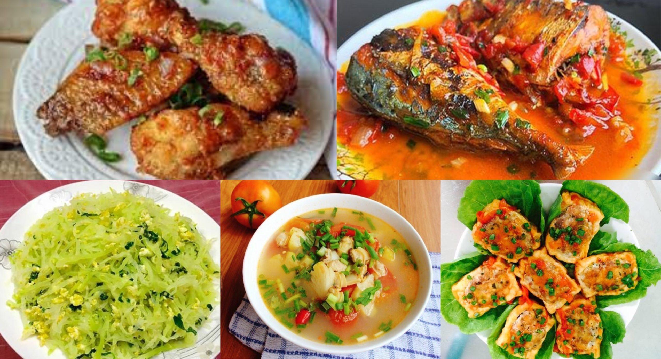 Món ngon mỗi ngày, thân khoẻ, tâm an, trí tuệ minh...nấu món ngon mỗi ngày; cách nấu món ngon mỗi ngày.