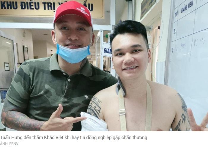 Nam ca sĩ Khắc Việt đã phẫu thuật, không còn nằm hành lang bệnh viện