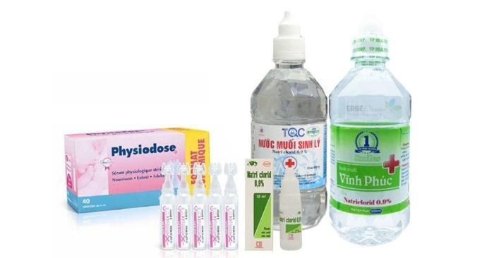 Nước muối sinh lý có thể loại bỏ các chất nhờn trên da