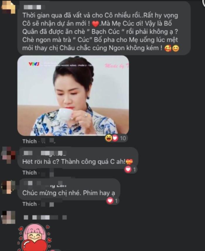 NSND Thu Hà... những bình luận chúc mừng