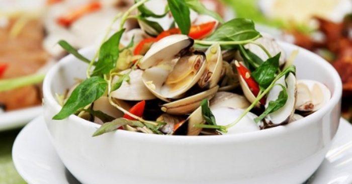 Ăn nghêu có tác dụng gì tốt cho sức khỏe