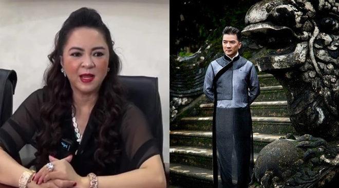 """""""Trong cách lên tiếng của Đàm Vĩnh Hưng vẫn còn một chút văn hóa dành cho tôi"""" – Bà Nguyễn Phương Hằng nói."""