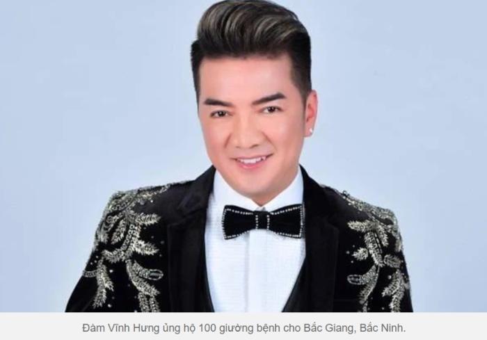 Ca sĩ Đàm Vĩnh Hưng tặng 100 giường bệnh, đấu giá đồ quý ủng hộ Bắc Giang, Bắc Ninh