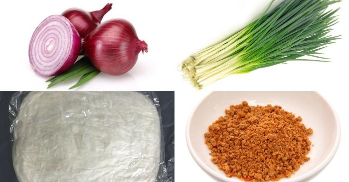Cách làm bánh tráng tôm rim;