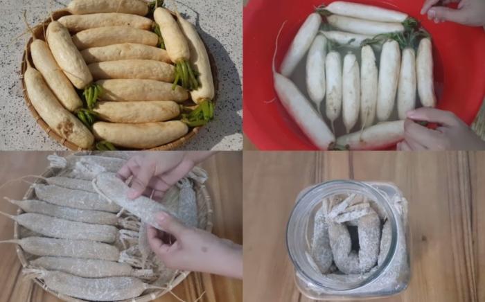 Củ cải trắng kho thịt; Củ cải trắng kho tương; Củ cải trắng kho cá;