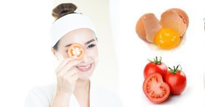 làm trắng da bằng cà chua và muối; làm đẹp với cà chua đông đá; cách làm trắng da bằng cà chua cực nhanh và hiệu quả;