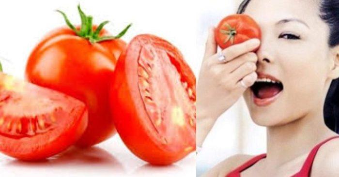 Cà chua không chỉ là loại thực phẩm bổ dưỡng tốt cho sức khỏe; mà nó còn là mỹ phẩm thiên nhiên được chị em tin dùng để chăm sóc sắc đẹp