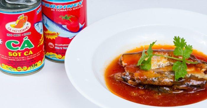 cách nấu cá hộp sốt cà chua đậm đà hương vị