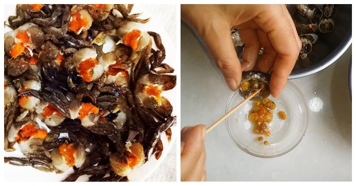 Cách nấu canh cua rau muống;  canh riêu cua; cách nấu canh cua mồng tơi, mướp; Cách nấu canh cua rau ngót; Nấu canh cua chua.