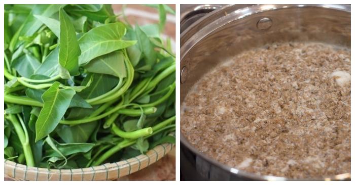 Cách nấu canh cua rau muống; quyết nấu canh cua ngon; Nấu canh cua đồng; Nấu canh cua mồng tơi; Cách nấu canh cua rau cải.