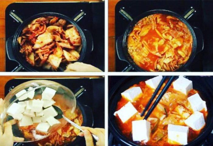 Các bước thực hiện cách nấu canh kim chi chay... Cách nấu canh kim chi đơn giản; Cách nấu lẩu kim chi chay;