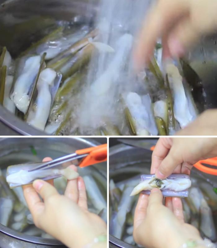 Nếu muốn bảo quản ốc móng tay (loại vẫn còn sống) ở môi trường bình thường thì chỉ cần cho ốc vào một túi vải rồi thường xuyên xịt nước để tạo độ ẩm cho chúng là được. Với cách này, có thể bảo quản ốc được 1 - 3 ngày.