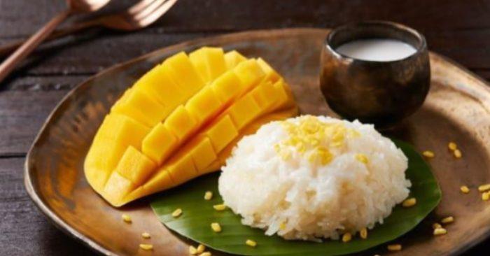 cách nấu món xôi xoài Thái Lan; cách nấu xôi xoài Thái Lan ngon; cách nấu xôi xoài kiểu Thái; cách nấu xôi dừa xoài