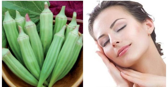 Những chất chống oxy hóa trong đậu bắp, giúp thanh lọc máu; hỗ trợ điều trị mụn trứng cá và các bệnh ngoài da và giúp cho làn tóc đen mượt.