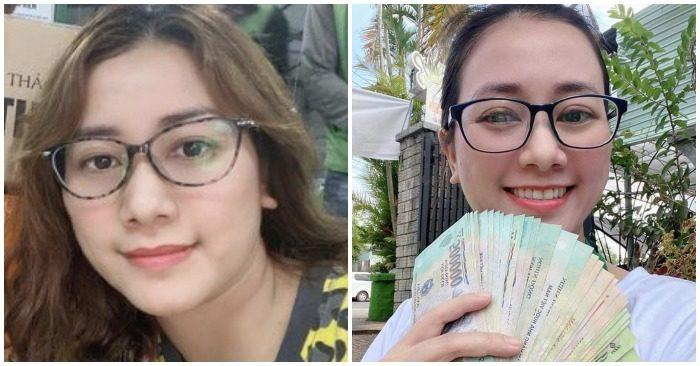 Nữ nhân viên ngân hàng BIDV Chu Nữ Diệu Huyền (ảnh chụp màn hình trên Người Lao Động).