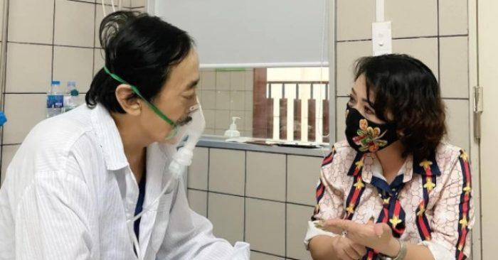 Giang còi phải nhập viện vì bệnh ung thư hạ họng đã trở nên nghiêm trọng...