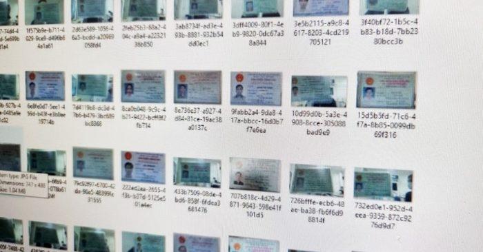 Hàng nghìn chứng minh nhân dân bị rao bán trên mạng
