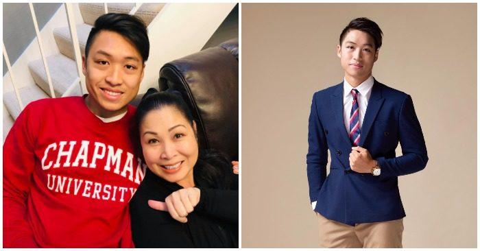 NSND Hồng Vân hạnh phúc với những thành quả mà con trai Khôi Nguyên đã đạt được (ảnh facebook nhân vật).