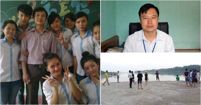 Thầy Phùng Anh Tuấn – người hùng cứu 3 cha con đuối nước ở Hạ Hòa, Phú Thọ