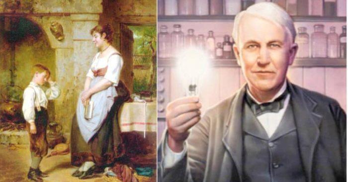 Câu chuyện Người mẹ vĩ đại dạy Thomas Edison thành thiên tài.
