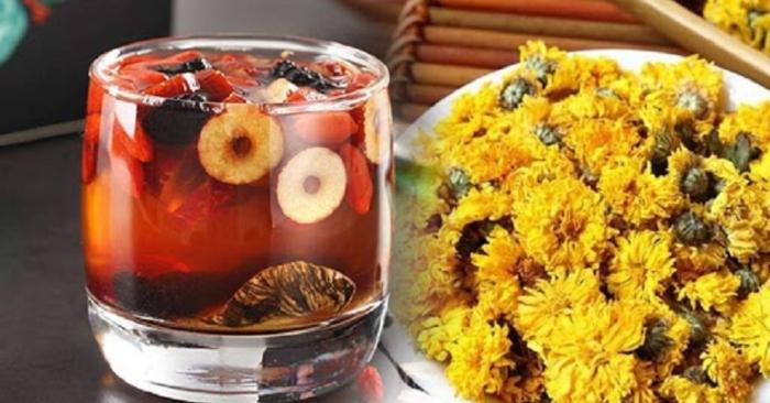 trà hoa cúc mật ong có tác dụng  gì? ; cách làm trà hoa cúc ; trà hoa cúc đường phèn;