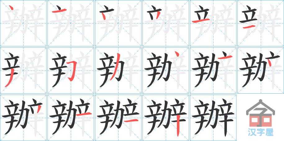 Học từ vựng tiếng Trung có trong sách Chuyển Pháp Luân - chữ bạn; học tiếng trung; học tiếng trung; từ vựng tiếng trung; học tiếng trung cơ bản