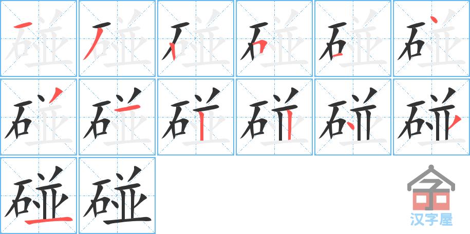 Học từ vựng tiếng Trung có trong sách Chuyển Pháp Luân - chữ bánh; học tiếng trung; học tiếng trung; từ vựng tiếng trung; học tiếng trung cơ bản