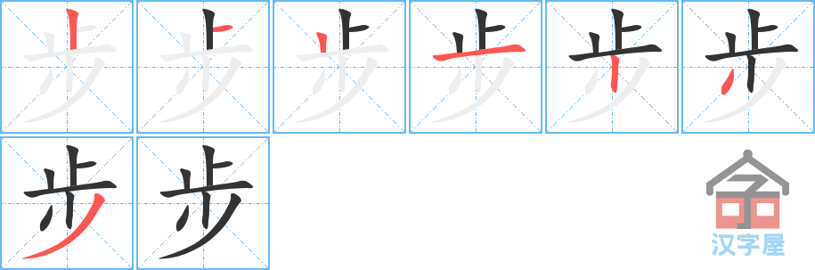 Học từ vựng tiếng Trung có trong sách Chuyển Pháp Luân - chữ bộ; học tiếng trung; học tiếng trung; từ vựng tiếng trung; học tiếng trung cơ bản