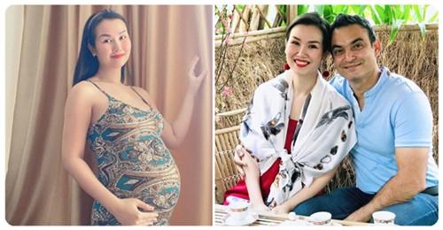 Võ Hạ Trâm ăn chay trong suốt 30 tuần thai kỳ