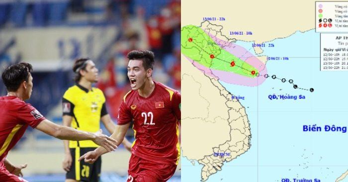 Các cầu thủ Việt Nam rộng cửa vào vòng tiếp theo; Thái Bình - Thanh Hóa nguy cơ đón bão (ảnh VFF/TT DBKTTV TƯ).