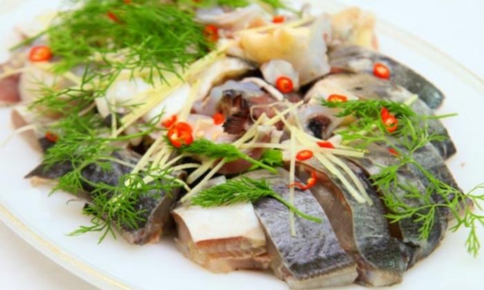 Cá tầm kho riềng và cá tầm kho tộ; tầm kho riềng; Cá tầm kho xì dầu; Cá tầm kho dưa cải; Món ngon từ cá tầm.